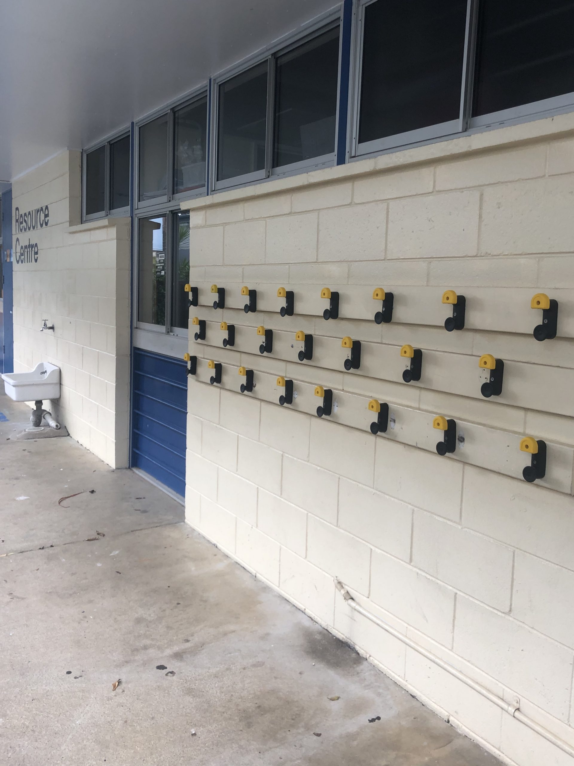 School Bag Hooks From  Safehook – Robertson Primary School